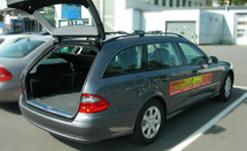 Taxi Kombi Außenansicht